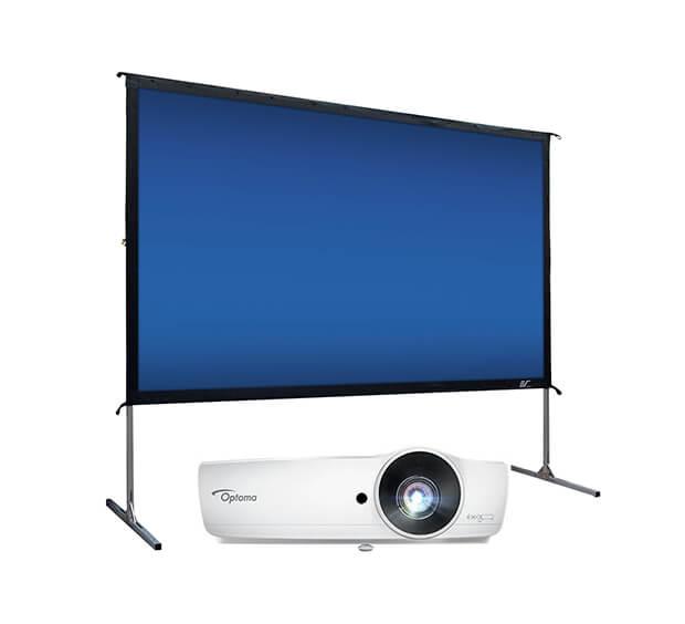 Vidéoprojecteur 4200 lumens + Ecran de projection 120″