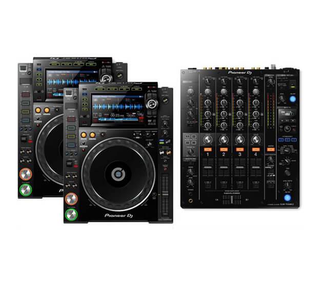 Pioneer CDJ-2000 NXS2 + DJM-750